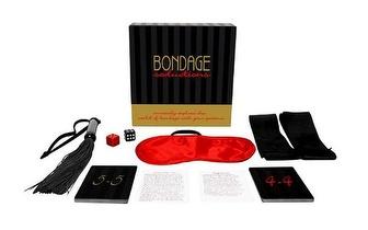 SEXY GAME: Jogo Bondage Seductions + Algemas de Metal, apenas 29€!