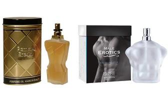 Fragrâncias Sensuais & Exóticas para Ele e para Ela, apenas 17€!