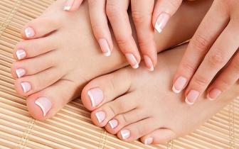 Manicure + Pedicure + Hidratação + Depilação buço ou sobrancelhas!