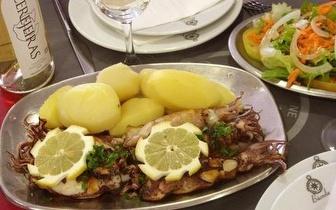 Jantar Completo de Peixe Fresco por apenas 9€ na Nazaré!