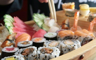 Menu completo de sushi apenas 13€!