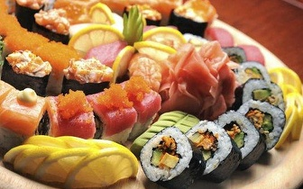 All you can eat de sushi na Expo ao jantar por apenas 10,50€!