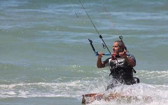 Por apenas 15€ faça o seu batismo de KiteSurf!