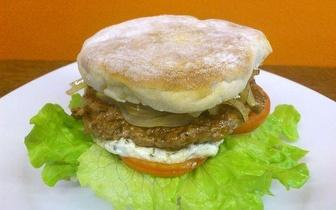 Menu Hambúrguer Gourmet + Petisco, para 2 pessoas