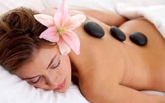 Massagem de Pedras Quentes, Corpo Inteiro, apenas 14,50€!