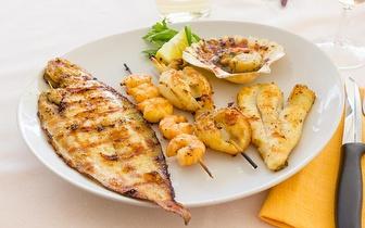 Menu para 2 ao Jantar: Entradas + Bebidas + Prato Principal + Sobremesas + Cafés por 25€, na Av. Roma!