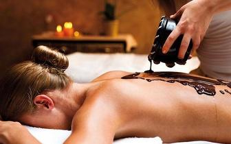Chocoterapia durante 90minutos... efeito relaxante, hidratante e anti-celulitico!