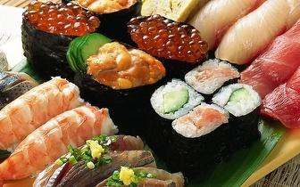 All You Can Eat de Sushi ao Jantar no Lumiar: 10,50€! Repita as vezes que quiser