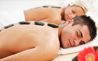 Massagem de Pedras Quentes para Casal de 50min por 29,90€, em Benfica!
