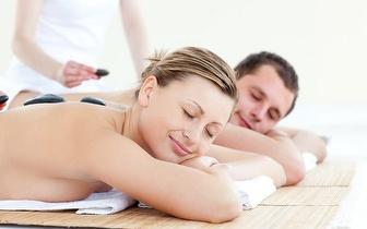 Pacote 2 Massagens de Pedras Quentes  ou de Velas (50 min) para Casal por 55€, em Benfica!