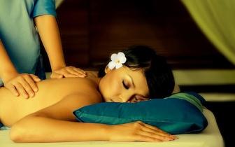 62% de desconto em massagem de relaxamento!