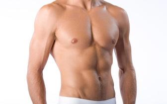 Fotodepilação SHR para Homem: Costas completas + Ombros ou Peito + Abdómen + Linha Alba por 18,90€, em Évora!