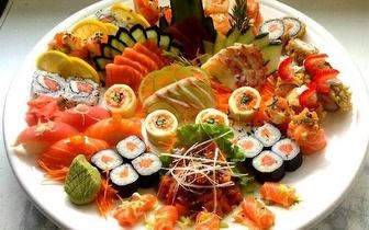 Sushi Menu Degustação Especial para 2 pessoas ao Almoço!