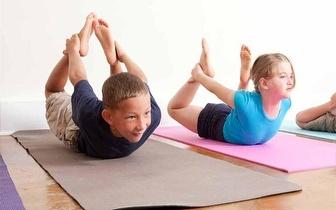 Yoga Kids (dos 5 aos 12 anos) durante um mês, no Saldanha, apenas 10€!