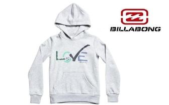 Camisola BILLABONG Love com Capuz, para adulto ou criança, por apenas 19,50€! Entrega em todo o país!