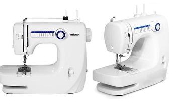 Máquina de Costura Tristar SM-6000 com 10 Programas por 64,90€!