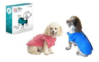 Bata/Manta para Cães (Azul e Rosa) por apenas 4,95€!