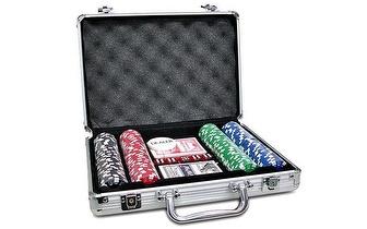 Mala de Poker 200 fichas Profissional por 16,75€!