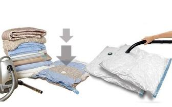 2 Sacos de Vácuo Compak Bag Roupas por apenas 11,90€! Entrega em todo o país!