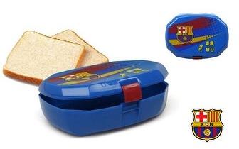 Caixa para sanduíches oficial do Barcelona, por apenas 4,25€! Entrega em todo o país!