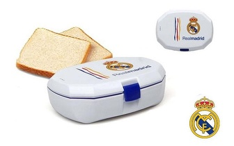 Caixa para sanduíches oficial do Real Madrid por apenas 4,25€!