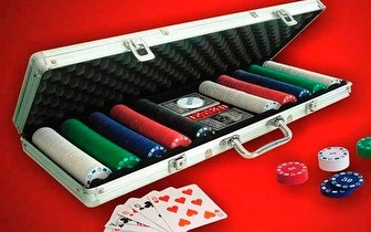 Mala de Poker 500 fichas Profissional por apenas 28,50€!