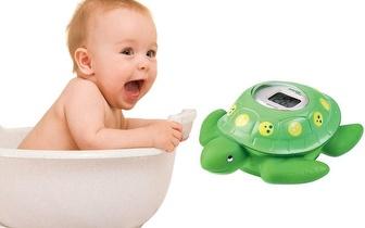 Termómetro Tartaruga Digital da Joycare para o banho do bebé por 6,90€!
