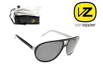 Óculos Von Zipper® Telly Black White Grey por 19,50€!