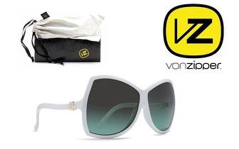 Óculos Von Zipper® Nessie White Gloss Brown Green por apenas 25€!