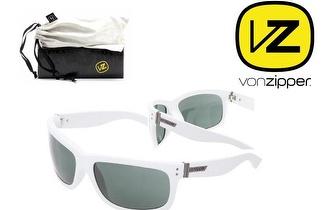 Óculos Von Zipper® Modcon White Satin Vintage Grey por 19,50€!