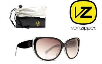 Óculos Von Zipper® Ivana Black White Vintage Gradien por 19,50€!