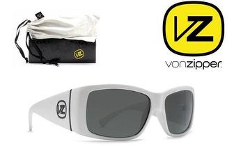 Óculos Von Zipper® Southpaw White Vintage Grey por 19,50€!