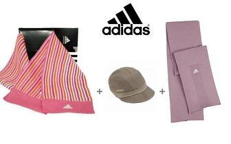 Pack 2 Cachecóis Adidas + 1 Chapéu Adidas por 12,50€!