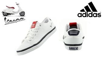 Adidas Vespa Brancas por apenas 22,90€! Entrega em todo o País!