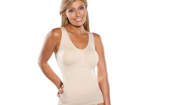 Camisola modeladora com efeito Soutien Booby & Tummy por apenas 14,95€!