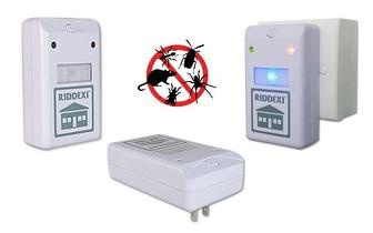 Pack 2 unidades Riddex: Repelente de insectos, roedores, baratas...por apenas 19,90€!