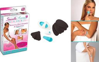 Depiladora Smooth Away Vibe: Novo sistema de depilação sem dor nem irritações por apenas 9,95€!