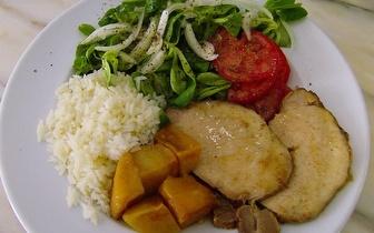Menu de Almoço por apenas 6.50€ em São Mamede de Infesta!