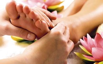 Massagem de Reflexologia de 45 min por apenas 14€, no Saldanha!