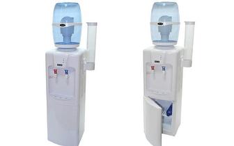 Dispensador de Água Fria e Quente com Frigorífico Norwei por 185€!