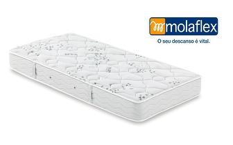 Colchão de Solteiro Flex Visco MOLAFLEX + 1 Almofada Siena por apenas 236,90€!
