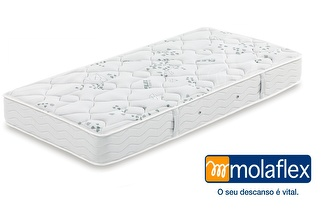 Colchão de Casal Flex Visco MOLAFLEX + 2 Almofadas Siena por apenas 376,80€!