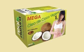Cápsulas de Óleo de Côco para Queimar Gordura por 14€!