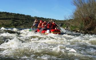 Rafting nas Paisagens Deslumbrantes do Rio Guadiana por 59€!