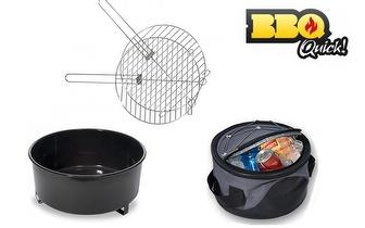 Barbecue BBQ Quick com Saco de Transporte por 17,50€, com portes incluídos!