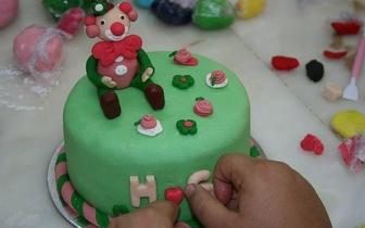 6 de Dezembro: Workshop Cake Design Nível 1 por 27€, no Porto!