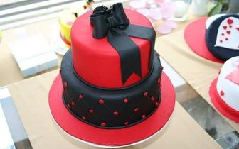 19 e 26 de Abril: Workshop Cake Design Nível 2, no Porto, por apenas 37€!