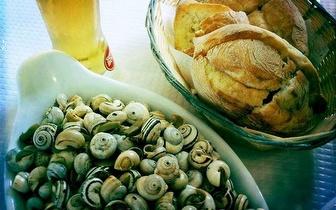 Petiscos: Caracóis + Ameijoas + Bebidas para 2 pessoas por 9,90€, na Fonte da Telha!