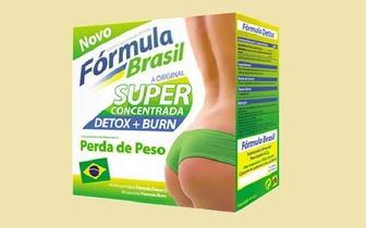 Tenha o peso certo e a silhueta perfeita com a Fórmula Brasil por 24,50€!