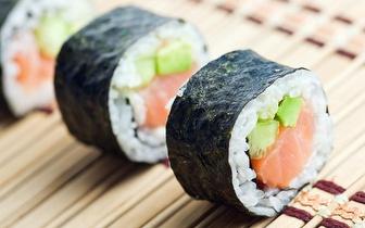 All You Can Eat de Sushi Buffet ao almoço por 8,10€, em Miraflores!